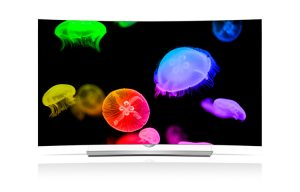 LG 65-Inch 4k Ultra HD 3D Curved OLED TV