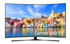 Samsung Curved 48-Inch 4K Ultra HD Smart LED TV