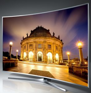 Samsung Curved 88-Inch 4K Ultra HD 240Hz Smart LED TV