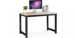 Best Choice Products Wood L-Shape Computer Desk