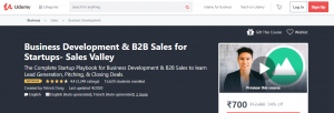 Best Salesman Training Courses by Udemy