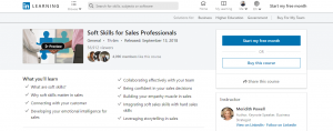 Soft Skills for Salesman by Linkedin