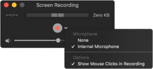 MAC Screen Recoding