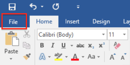 Recover Unsaved Documents Function in Word