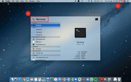 Use Terminal on Mac How to Find Wifi Password on Mac