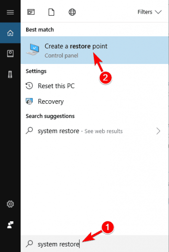 Windows Restore Point There Was a Problem Resetting Your PC