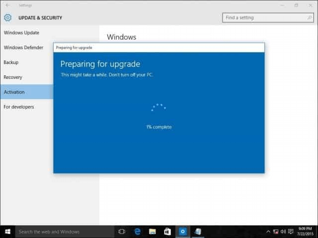upgrade Windows 10 Home to Pro using an OEM key
