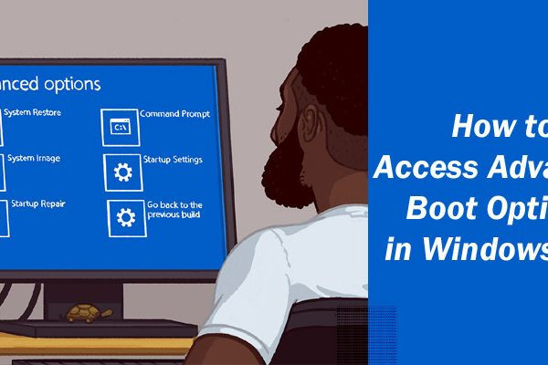How to Access Advanced Boot Options in Windows 10