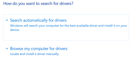 Search For the New Driver