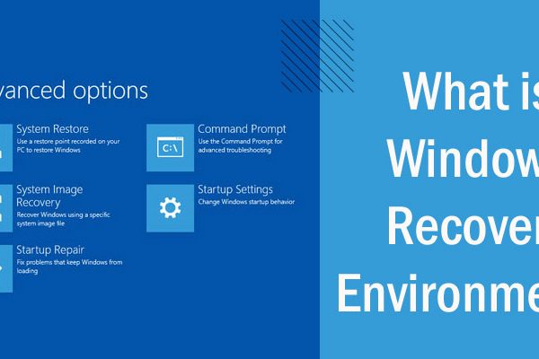 What is Windows Recovery Environment