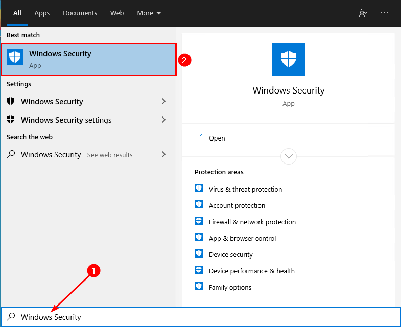 Windows security How to Turn Off Windows Defender