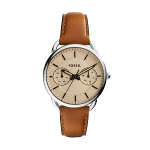 Fossil Analog White Dial Women's Watch - ES3950