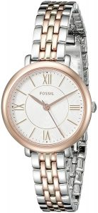 Fossil Jacqueline Analog Silver Dial Women's Watch - ES3847