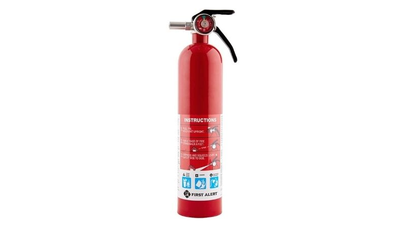 First Alert Home1 Rechargeable Standard Home Fire Extinguisher